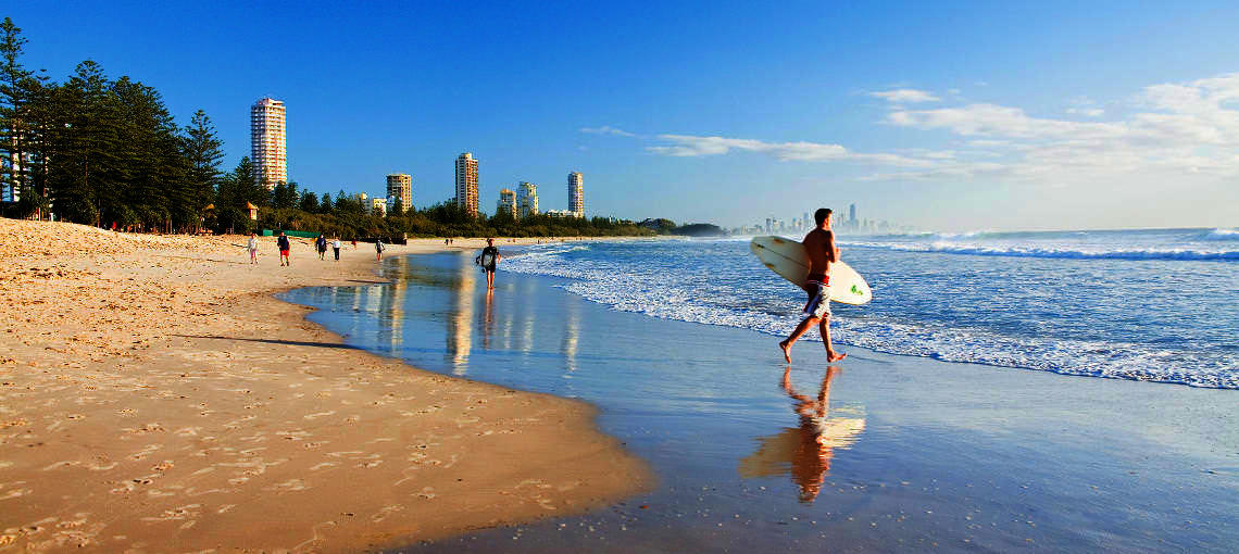 Free Things To Do  Burleigh Heads Beach