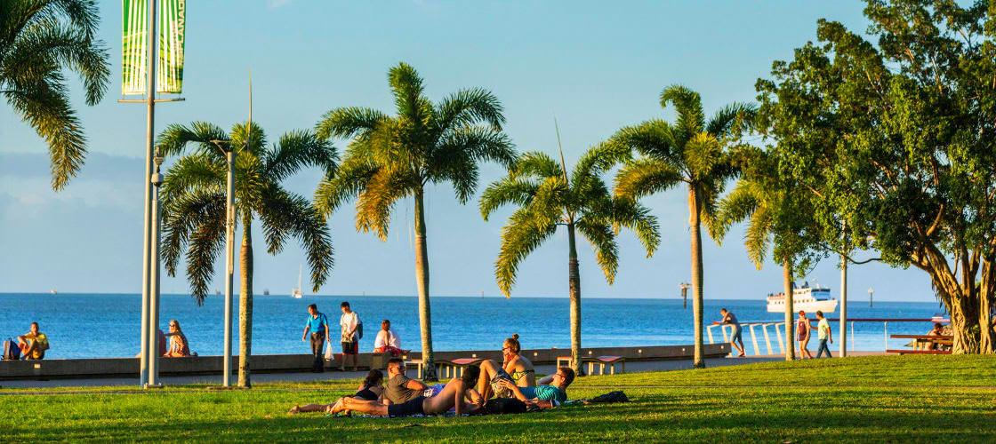 Cairns Esplanade and Lagoon