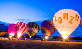 Yarra Valley Hot Air Balloon Flight Thumbnail 5