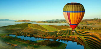 Yarra Valley Hot Air Balloon Flight Thumbnail 3