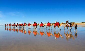 Cable Beach Pre Sunset Sampler Camel Ride Thumbnail 2