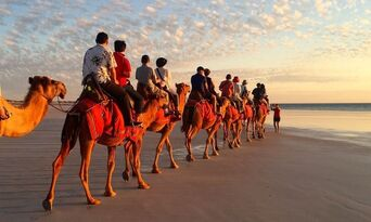 Sunset Cable Beach Camel Ride Thumbnail 4