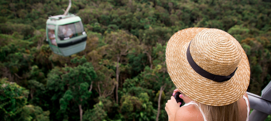 Skyrail Rainforest Cableway Alicia Smith Review Cairns & Review: Cairns Skyrail Rainforest Cableway | Experience Oz