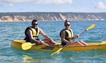 Rainbow Beach Dolphin Kayak & 4WD Beach Drive Adventure Thumbnail 5