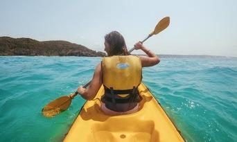 Noosa Dolphin Viewing Sea Kayak Tour Thumbnail 1