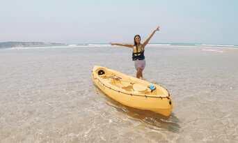 Noosa Dolphin Viewing Sea Kayak Tour Thumbnail 6