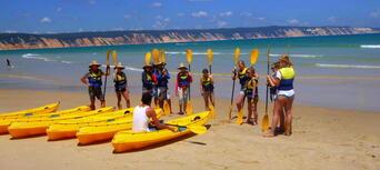 Rainbow Beach Dolphin Kayak and 4WD Beach Drive Adventure Thumbnail 6