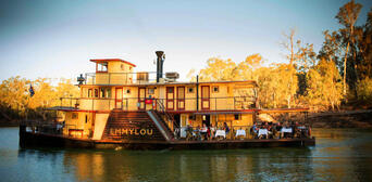 Murray River Paddlesteamers Lunch Cruise from Echuca Thumbnail 1