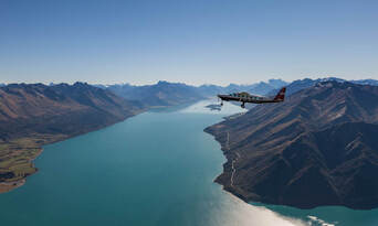 Milford Fly, Walk, Cruise and Fly Combo from Queenstown Thumbnail 1