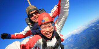 Skydive Abel Tasman 16,500ft Thumbnail 4