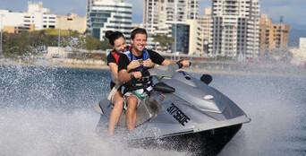 Gold Coast 1 hour Guided Jet Ski Tour Thumbnail 1