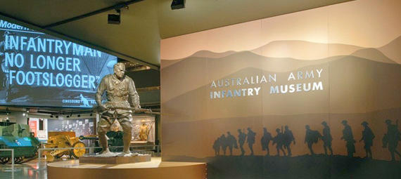 Free Things To Do  Australian Army Infantry Museum