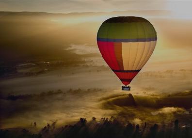 Things to do hot air ballooning
