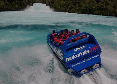 Jet boating in Australia & New Zealand